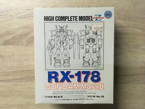 HIGH COMPLETE MODEL 1:144 SCALE RX 178 MK II very old skool BANDAI