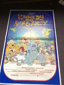 RAGGEDY ANN AND ANDY ORIGINAL 27X41 MOVIE POSTER 1977 $49.99