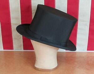 Vintage Antique Top Hat Stovepipe Sayres Scheid amp; Sweeton Victorian LancasterPA
