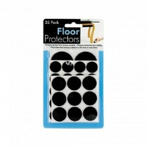 35 pc. Adhesive Felt Furniture Leg Floor Slider Pad Protector Scratch Protection
