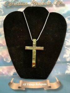 Handcrafted Wood Camouflage Cross pendants necklaces