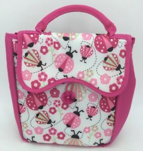 NWT Fit & Fresh Caitlin Chiller Insulated Lunch Tote/Bag Ladybug Frenzy. (AC)