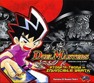 Duel Masters TCG Stomp a Trons of Invincible Wrath DM 06 Cards You Choose GBP 29.99