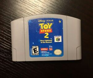 Toy Story 2: Buzz Lightyear to the Rescue Disney Nintendo 64 Game N64 $17.50