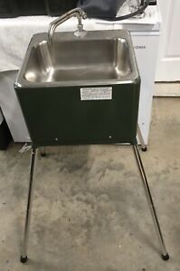 $5500 MILITARY FIELD MEDICAL SURGICAL PORTABLE SINK. Hotcold Water Brand New!