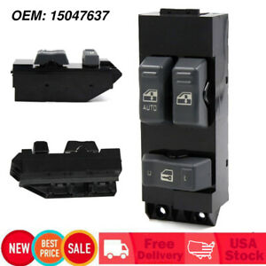 Driver Power Window Master Control Switch Fits For 99 02 Chevy Silverado GMC WF