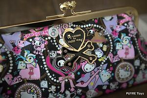 NWT Tokidoki X Hello Kitty BLACK DIAMONDS Rare PURSE W CHAIN USA Seller