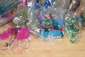 Holiday Time Cool Yule Variety Christmas Tree Ornaments, 28 Count