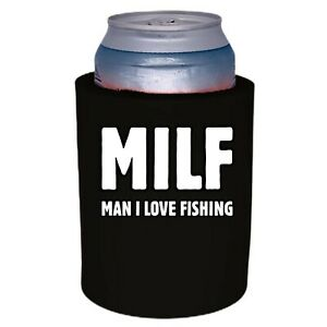 Milf Man I Love Fishing Thick Foam