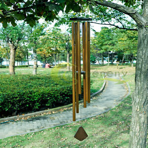 56quot; LARGE Metal Tube Deep Tone Resonant Bass Sound CHURCH Bell Wind chime $47.59