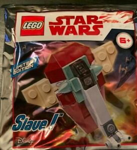 LEGO Star Wars Slave 1 911945 Foil Pack Rare In The USA