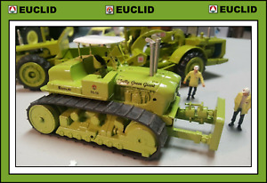 CUSTOM EUCLID Corgi TC 12 Pusher dozer FREE SHIPPING