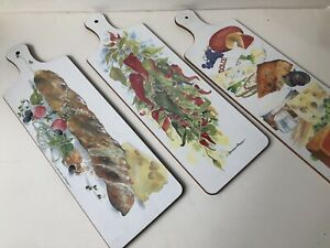 Set Of 3 CHARMAINE WILLIAMSON Cutting Boards, Great Britain