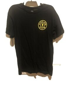 GOLDS GYM Sport Athletic Gym Tee T Shirt M Medium Black $14.99