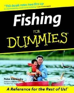 Fishing for Dummies Paperback By Kaminsky Peter VERY GOOD