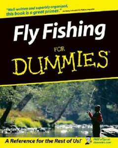 Fly Fishing For Dummies Paperback By Kaminsky Peter GOOD