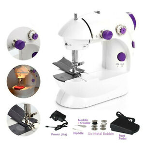 Portable Small Sewing Machine with LED Light and Thread Cutter High amp; Low Speeds $39.41
