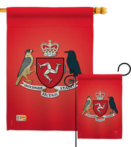 Isle of Man Garden Flag Regional Nationality Decorative Gift Yard House Banner