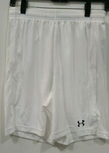 Under Armour UA RAID HeatGear Men's *WHITE* GYM SHORT *MED* $13.75