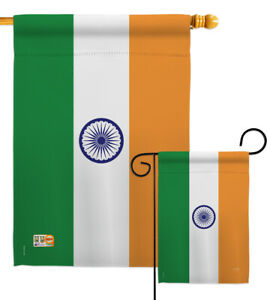 India Garden Flag Regional Nationality Small Decorative Gift Yard House Banner