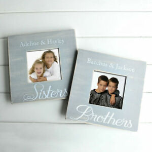 Personalized Photo Frame Picture Frame Engraved Names Gift for Friends Sisters