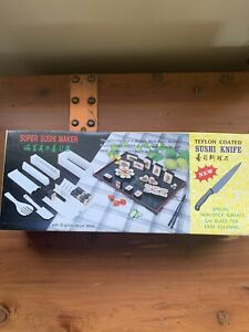 Super Sushi Maker Complete In Box With English Recipe/instruction Book