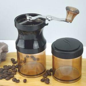 Protable Manual Coffee Bean Grinder Mill with Fixing Clip Mini Hand Cran