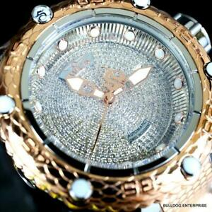 Invicta Subaqua Noma VI 1.8CT Diamond Swiss Automatic 2 Tone Rose Gold Watch New