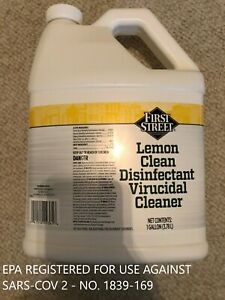 MULTI-SURFACE Cleaner - Virucidal Cleaner - 1 Gallon - HOSPITAL CLEANER