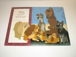 Disney#x27;s Lady and the Tramp A Collection of Six Fine Art Lithographs NEW $39.95