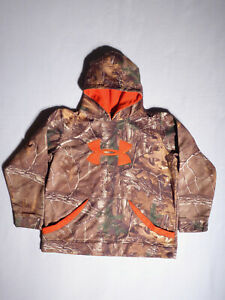 UNDER ARMOUR Boys Youth Camo Camouflage Hoodie size YXL $24.95