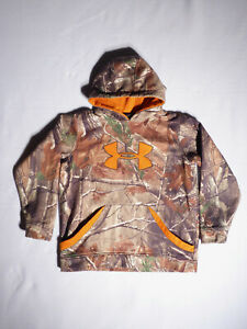 Under Armour Boys CAMO HOODIE Size YLG $24.95