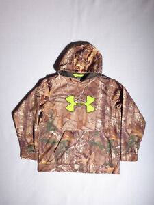 Under Armour Boys Pull Over CAMO HOODIE Size YXL $24.95