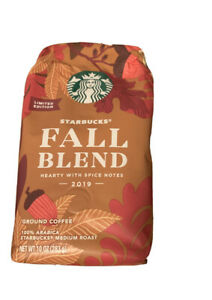 Starbucks Coffee Fall Blend 2019 Hearty with Spice Notes Brand 10oz