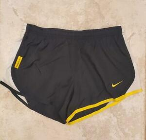 NWT Nike Livestrong Youth Girls Tempo Athletic Running Shorts Black 477064 S $19.99