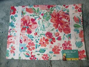 Brand New~ The Pioneer Woman GORGEOUS GARDEN Reversible Placemats SET OF 4