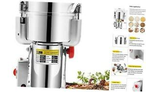 CGOLDENWALL 2000g Commercial Electric Stainless Steel Grain Grinder Mill Spice