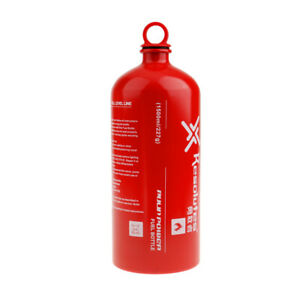 Premium Camping Fuel Bottle Outdoor Leakproof Stove Gas Oil Petrol Holder 1.5L