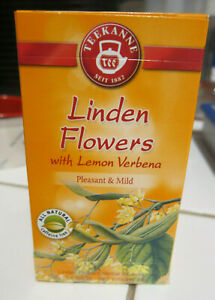 TEEKANNE Linden Flower with Lemon Verena Tea Herbal