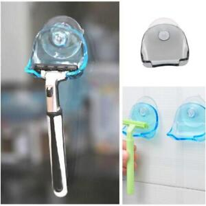 Shaver Razor Toothbrush Holder High Power Suction Cup Hook Bathroom Home SG