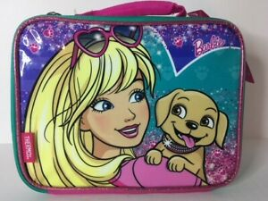 THERMOS 100% PVC Free Soft Insulated Lunch Bag - BARBIE