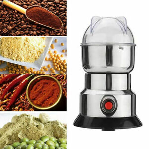 220V Electric Coffee Bean Spice Nuts Herb Grinding Mill Machine Grinder Miller