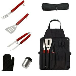 Camping Bbq Tools 7Pcs/Set Stainless Steel Grill Cooking Kit Utensils Bbq  U7A2