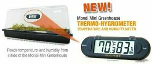 Mondi Mini Greenhouse Thermo-Hygrometer Environment Food Safety And Pet Care