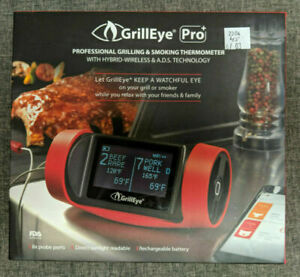 (3B2) GrillEye Pro+ WiFi & Bluetooth Grill Thermometer
