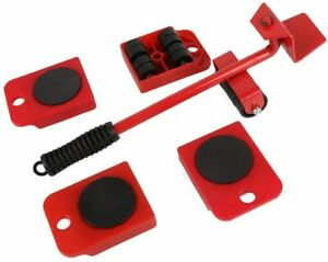 Furniture Lifter Easy to Move Slider 5 Piece Mobile Tool Set Moving and lifting $18.89