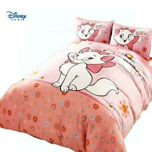 cute Cat Marie comforter bedding set girl single size quilt cover