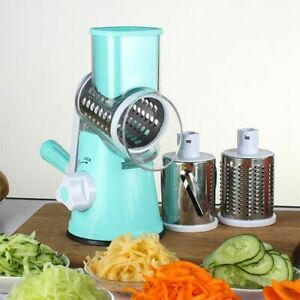 Manual Vegetable Cutter Slicer Kitchen AccESSories Multifunctional Round Ma Q2L4