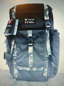 New Under Armour Project Rock Regiment Range Camo Backpack 1315435 001 $100.00