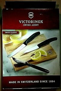 Victorinox SWISS ARMY Kitchen Cutlery - 4-Piece Prep Set w/ Cutting Board